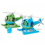 Helicopter Green Toys