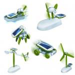 Chameleon 6-in-1 solar toy set